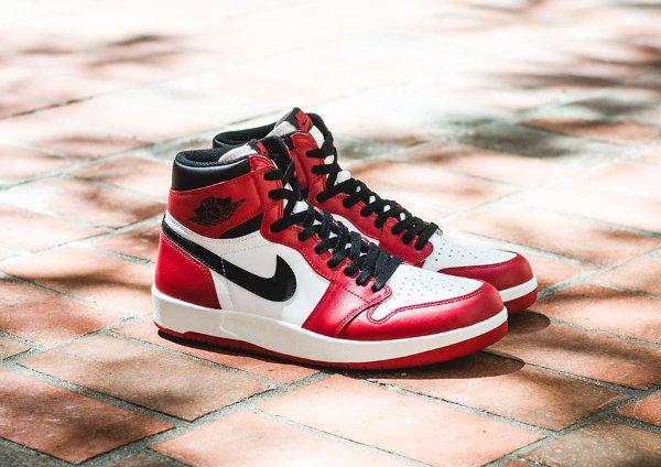 Air Jordan 1.5 High White Varsity Red