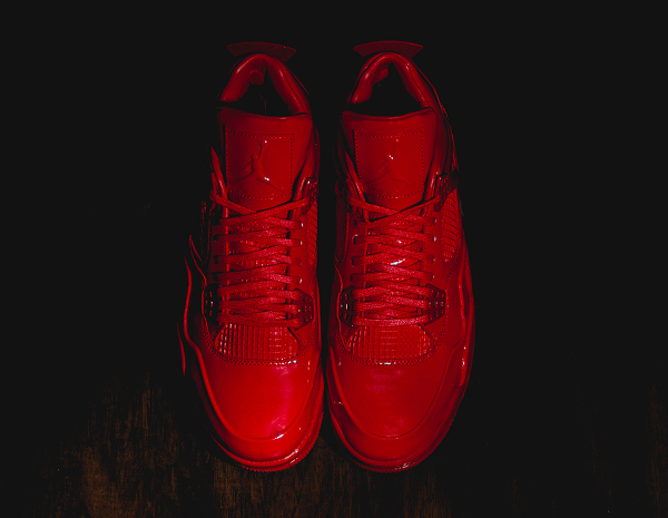 Air Jordan 11Lab4 Rouge (cuir verni) (2)