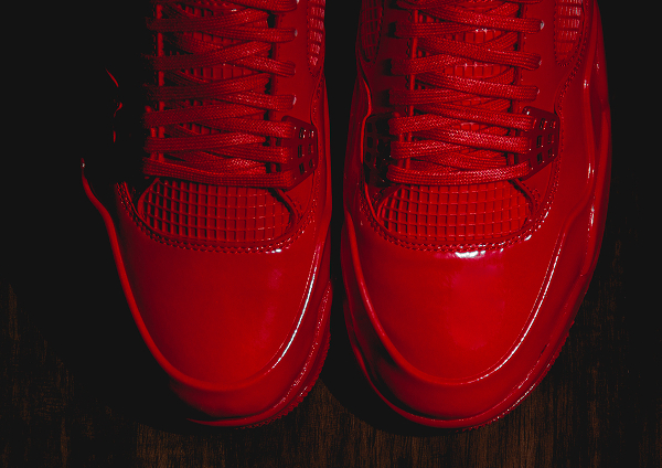 Air Jordan 11Lab4 Rouge (cuir verni) (3)