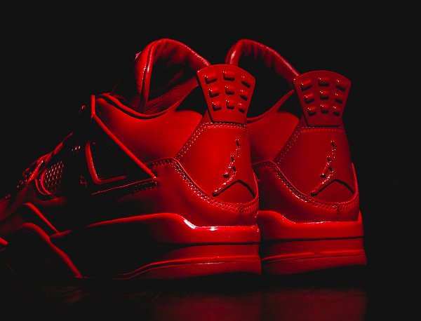 Air Jordan 11Lab4 Rouge (cuir verni) (4)