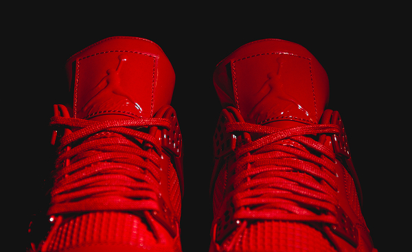 Air Jordan 11Lab4 Rouge (cuir verni) (5)
