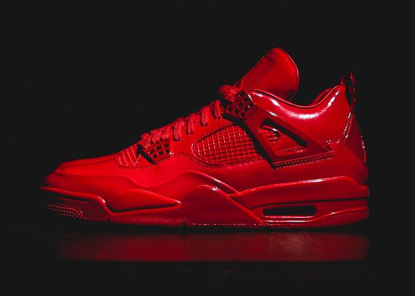 Air Jordan 11Lab4 Rouge (cuir verni) (6)
