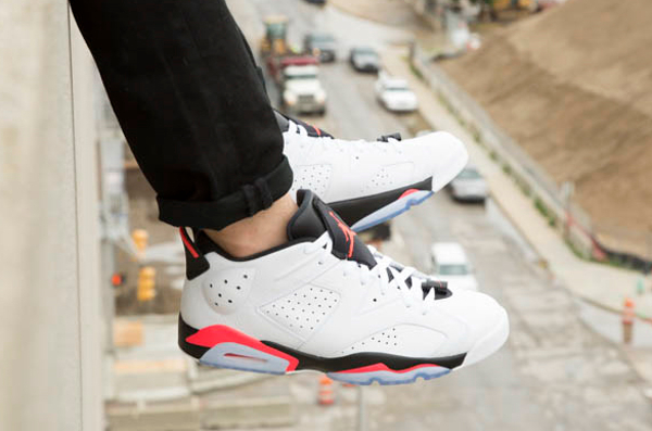 Air Jordan 6 Low White Infrared 23 (2)