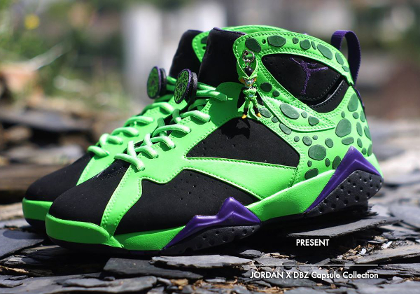 Air Jordan 7 x DBZ 'Cell'