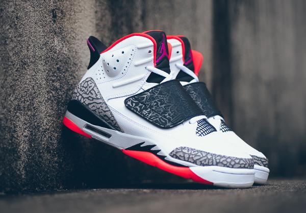 Air Jordan Son Of Mars White Fuchsia Flash