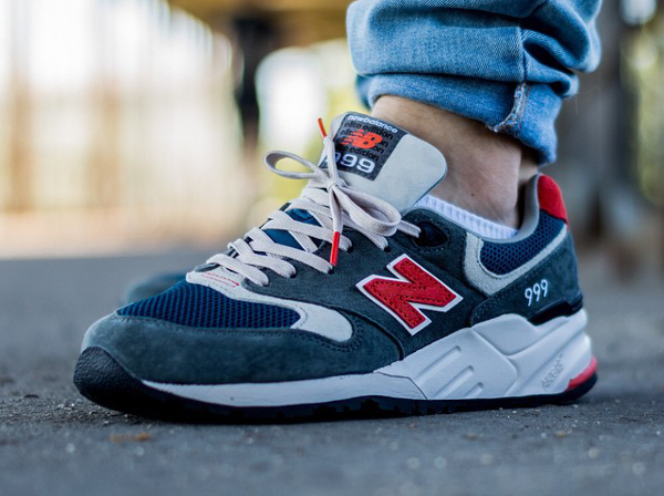 New Balance ML 999 AD Grey Red (1