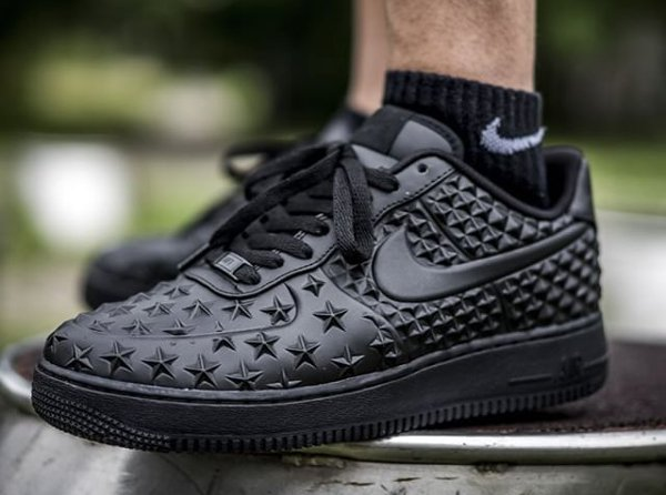 sale retailer a39d8 2f91a Nike Air Force 1 Low LV8 VT Black Independence Day