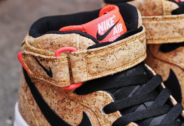 Nike Air Force 1 Mid en liège (2)