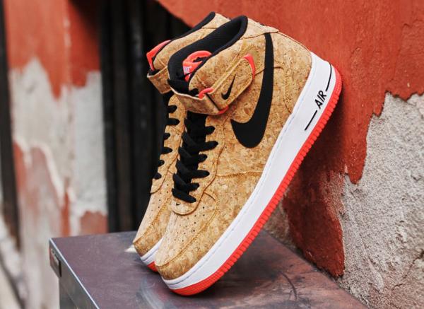 Nike Air Force 1 Mid en liège (5)