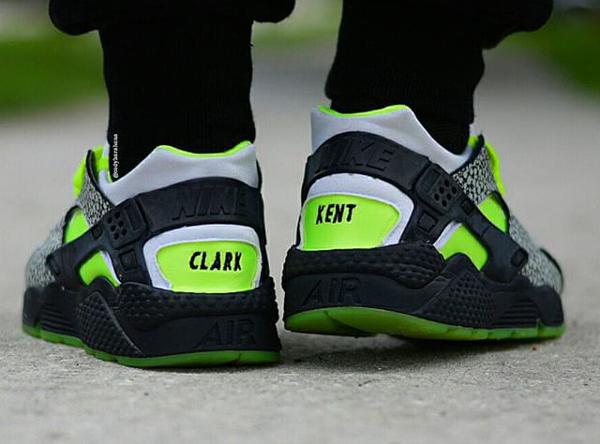 Nike Air Huarache ID 'DJ Clark Kent' (1)