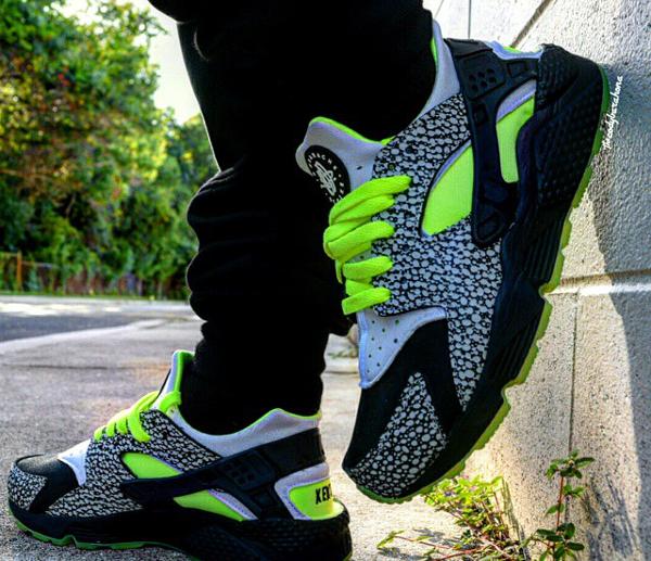 Nike Air Huarache ID 'DJ Clark Kent' (2)