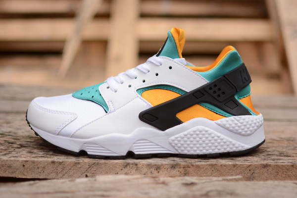 Nike Air Huarache OG 2015 White Sport Turquoise University Gold (1)