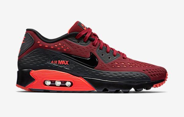 nike air max 90 ultra breathe rouge et noir