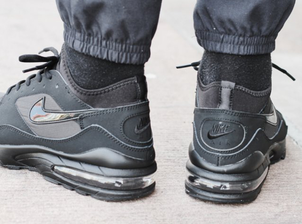Nike Air Max 93 Black Out (noire) (7)