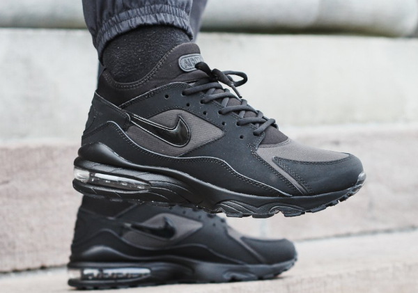 Nike Air Max 93 Triple Black (1)