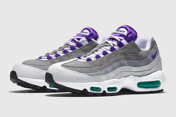 Nike Air Max 95 Court Purple Emerald Green 2015 (9)