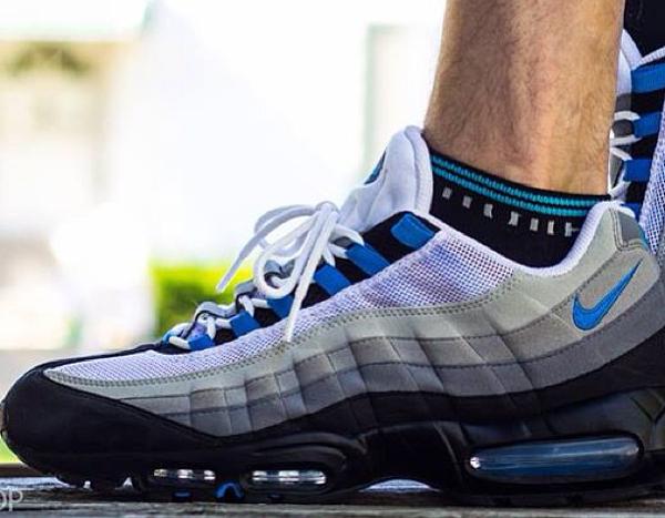 ... Nike Air Max 95 Crystal Blues - Rollomite . 59d336dd6