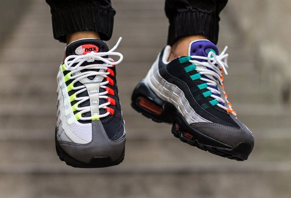Nike Air Max 95 OG Black Volt-Safety Orange QS (16)