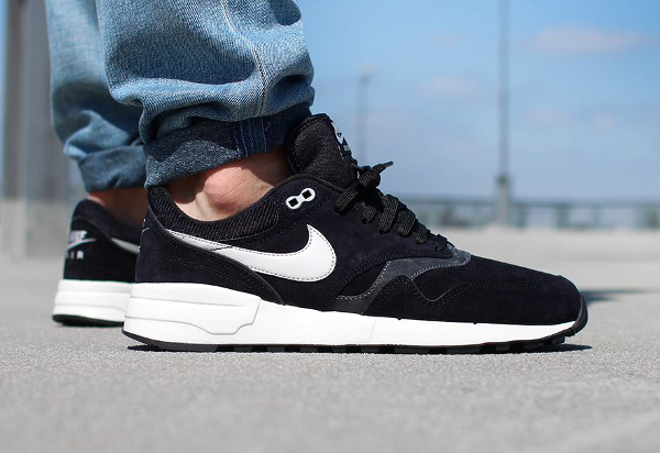 Nike Air Odyssey Leather 87 Black Night Silver (4)