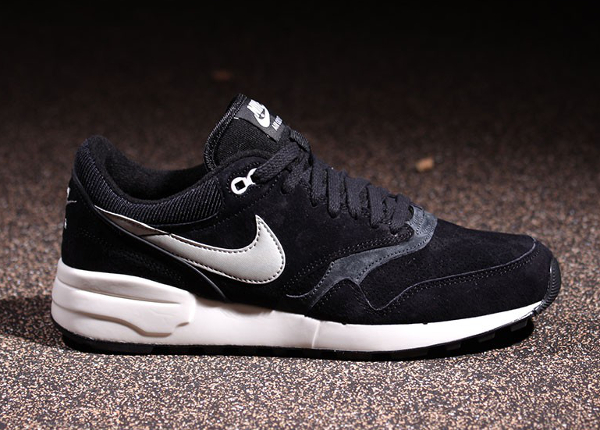 Nike Air Odyssey Leather 87 Black Night Silver (5)