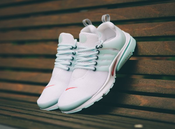 Nike Air Presto QS White Oriental Poppy  (1)