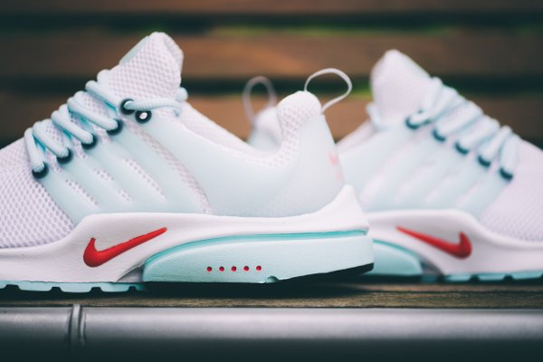 Nike Air Presto QS White Oriental Poppy  (4)