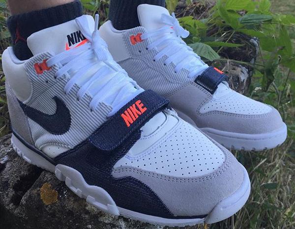 Nike Air Trainer 1 Denim White Obsidian (1)