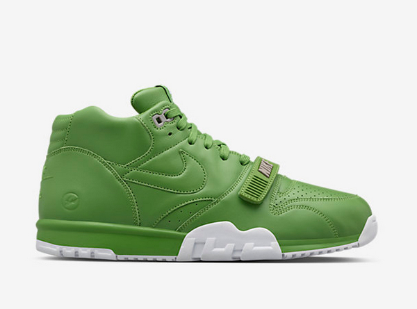 Nike Air Trainer 1 Mid SP x Fragment Wimbledon Chlorophyll  (3)