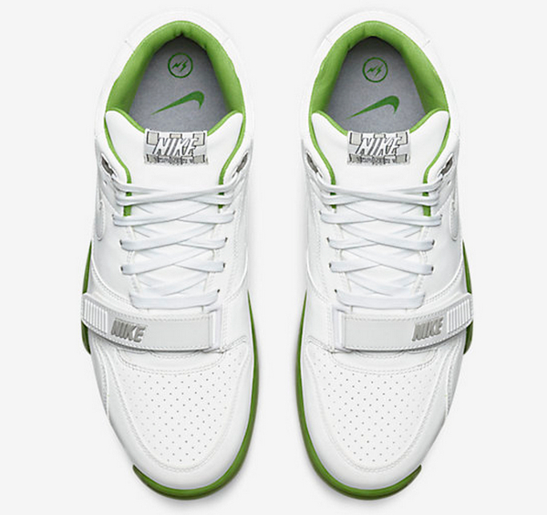 Nike Air Trainer 1 Mid SP x Fragment Wimbledon White (3)