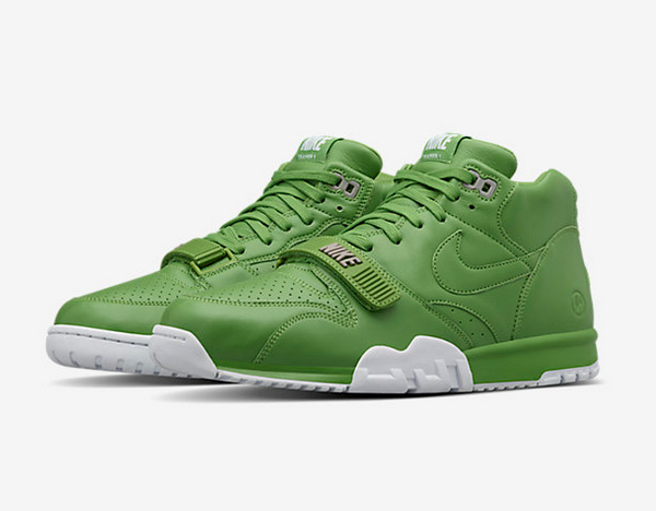 Nike Air Trainer 1 Wimbledon x Fragment  Chlorophyll