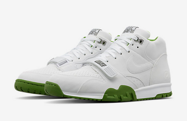Nike Air Trainer 1 x Fragment Wimbledon White (1)