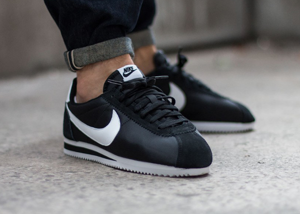 timeless design e1c23 bc95b Nike Cortez Nylon NY Black White 2015