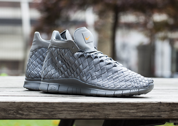 Nike Free Inneva Woven Mid SP Mate Silver