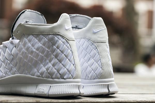 Nike Free Inneva Woven mi montante blanche (1)