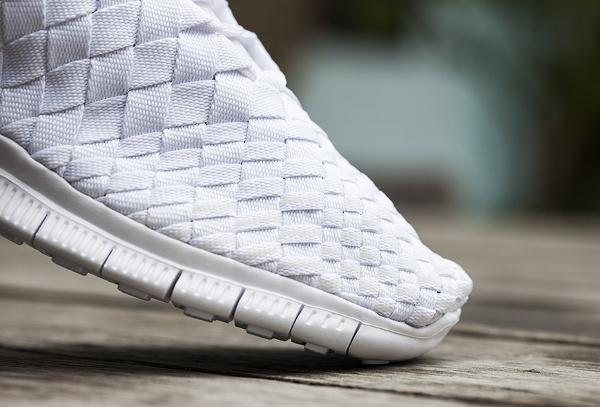 Nike Free Inneva Woven mi montante blanche (3)