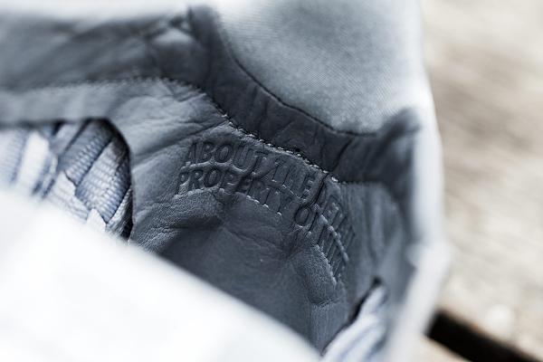 Nike Free Inneva Woven mi montante grise (2)