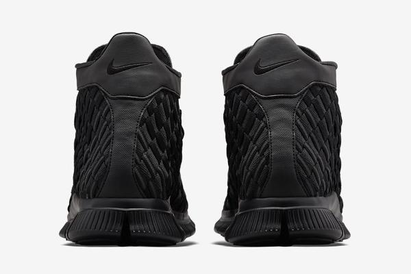 Nike Free Inneva Woven mi montante noire (5)