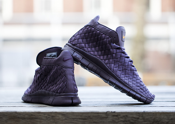 Nike Free Inneva Woven mi montante violette (2)