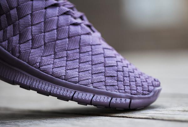 Nike Free Inneva Woven mi montante violette (3)