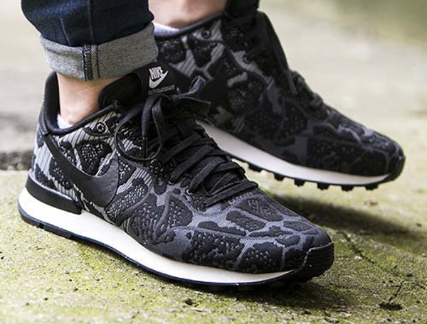 Nike Internationalist Jacquard Dark Grey Black