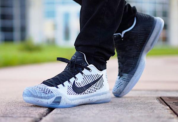 Nike Kobe X Elite ID Black White (1)