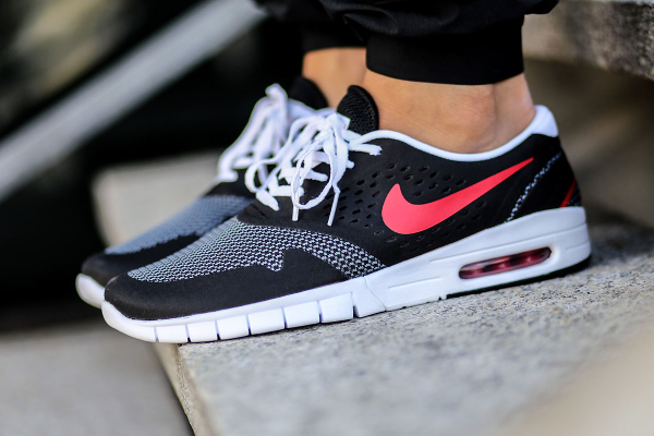 Nike Koston 2 Max Black Grey University Red (1)