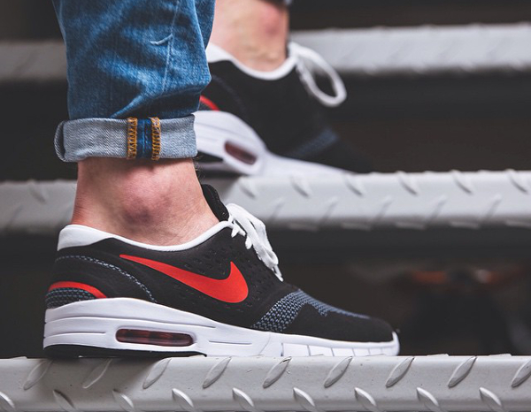 Nike Koston 2 Max Black Grey University Red (4)