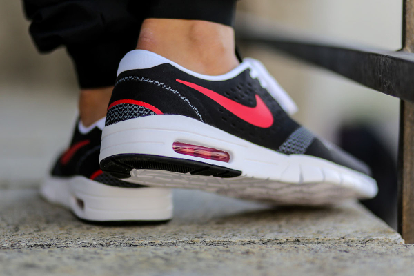 Nike Koston 2 Max Black Grey University Red (6)