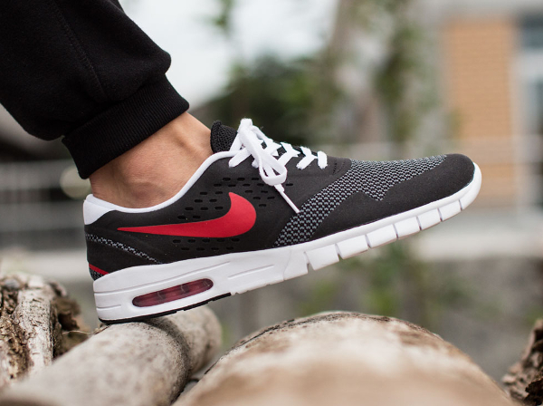 Nike Koston 2 Max Black Grey University Red (7)