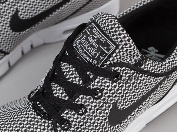 Nike SB Stefan Janoski Max Black White Black (4)