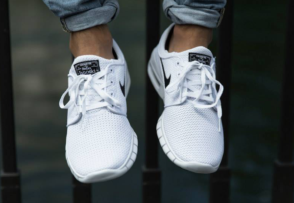 Nike SB Stefan Janoski Max Free White Black (4)