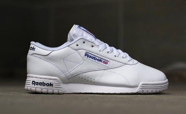 Reebok Exofit Lo White Royal Blue (1)