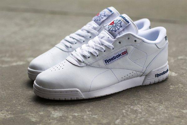 Reebok Exofit Lo White Royal Blue (4)