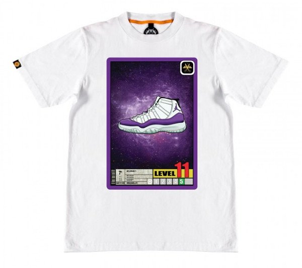 T-shirt Air Jordan 11 x Dragon Ball Majin Freezer